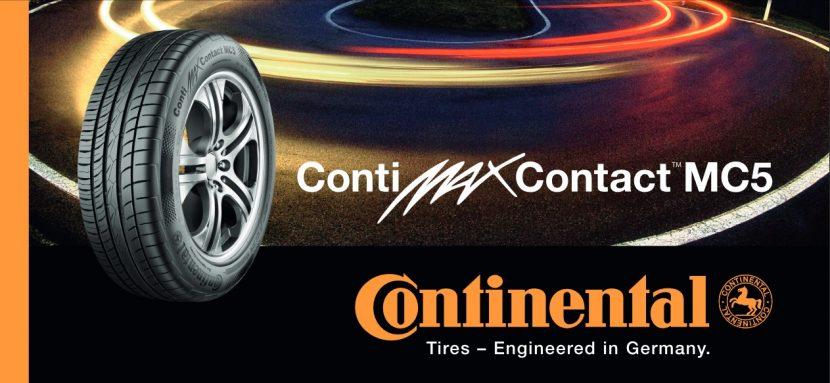 conti mc5 Continental ContiMaxContact MC5 เติมเต็มทุกอารมณ์