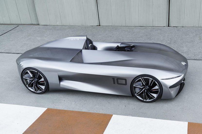 Infiniti Prototype 10 Concept รถต้นแบบใหม่ ขับเคลื่อนไฟฟ้า 100%