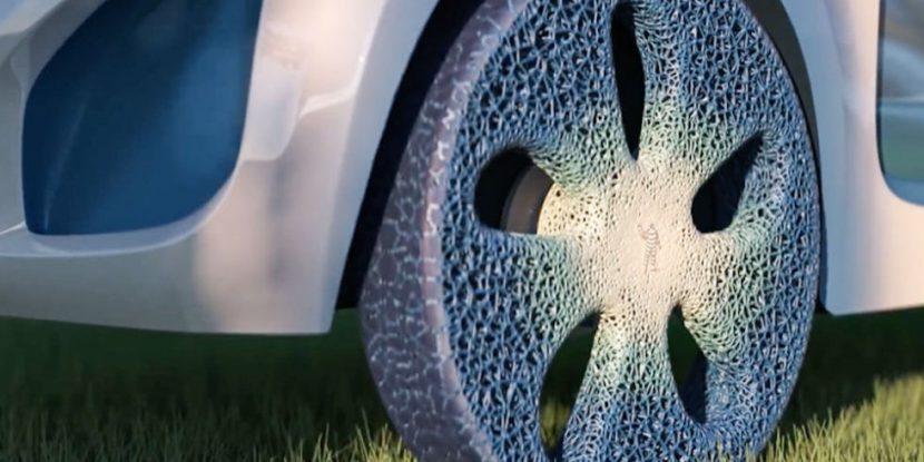 ยาง Visionary concept เปลี่ยนแปลงตามสภาพถนนจาก Michelin