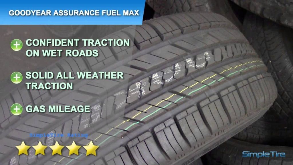 Goodyear Assurance Fuel Max สัมผัสขีดสุดของความประหยัด