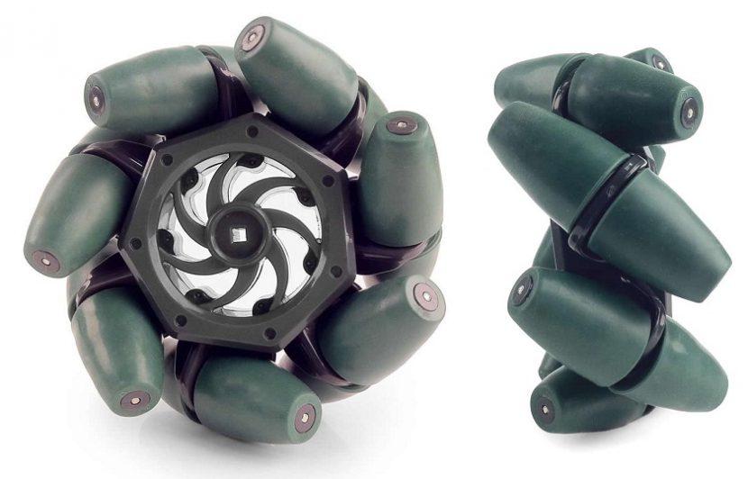 Mecanum wheel ล้อมหัศจรรย์ 360 องศา