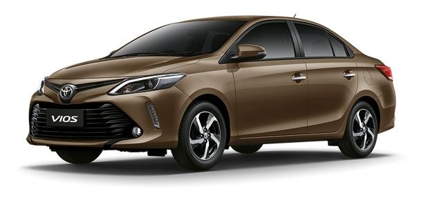 Toyota Vios 2017 Minor change ผ่อน 7,486 บาท