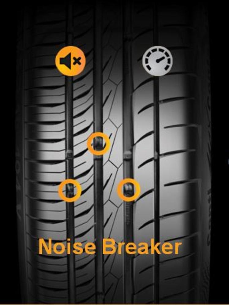 noise breaker Continental ContiMaxContact MC5 เติมเต็มทุกอารมณ์