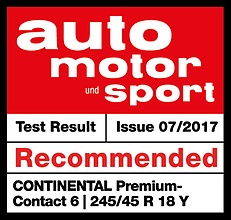 premiumcontact 6 testarticle ams 2017 preview Continental PremiumContact™ 6 เงียบทนเกินราคา