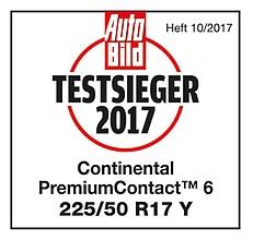 premiumcontact 6 testarticle autobild 2017 preview Continental PremiumContact™ 6 เงียบทนเกินราคา