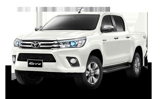 TOYOTA HILUX REVO 2017 Double Cab ราคา โปรโมชั่น ตารางผ่อน